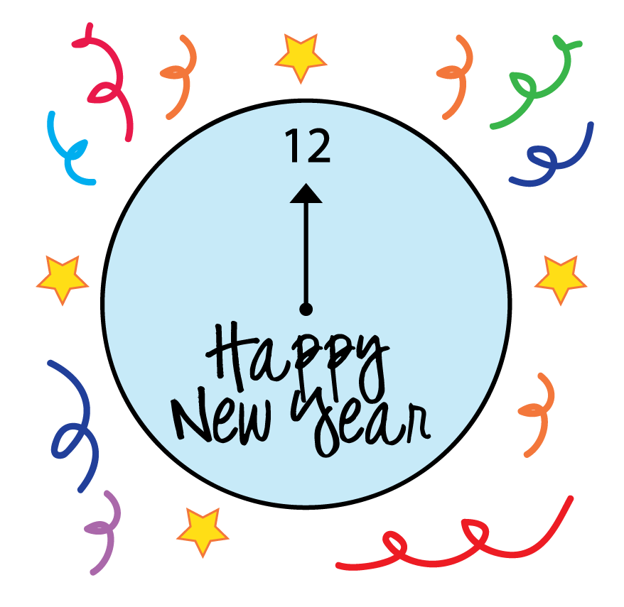 878x855 New Year Eve Clip Art 1 New Hd Template Images Chalk Art