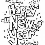 150x150 New Year Coloring Pages (3)