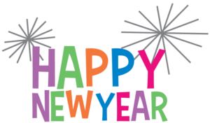 300x176 Happy New Year 2017 Clip Art Black And White Happy Holidays!