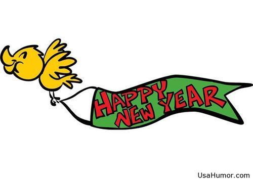 500x354 Happy New Year Clipart Banner Free Happy New Year 2018