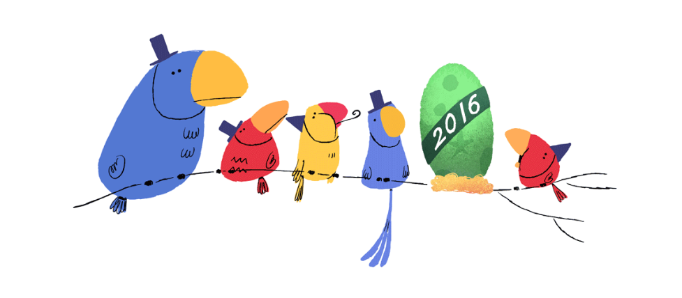 977x428 New Google Doodle Marks New Year's Eve Time