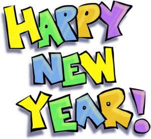 300x277 New Year S Day Clip Art Images