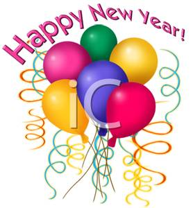 275x300 Party Clipart Happy New Year