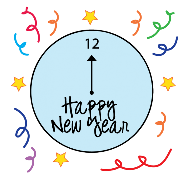 600x584 New Years Eve Clipart 5 Nice Clip Art
