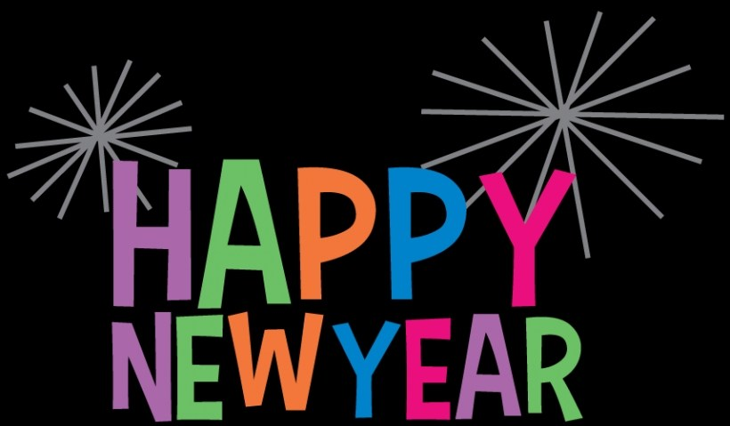 820x479 Bye Bye New Year Clip Art Merry Christmas And Happy New Year 2018
