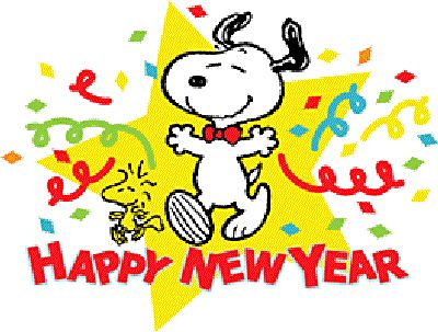 400x303 Snoopy Clipart New Year