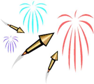 400x357 Bonfire Clipart New Year Firework