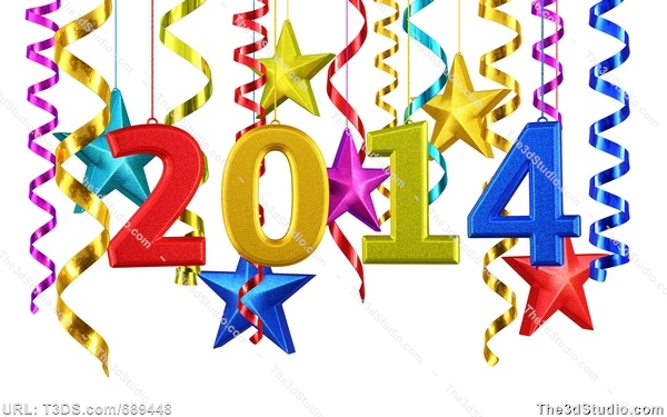 600x375 New Year S Eve 2014 Clip Art Cliparts