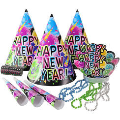 244x244 New Year's Eve Hats, Kits Amp Accessories Party Delights