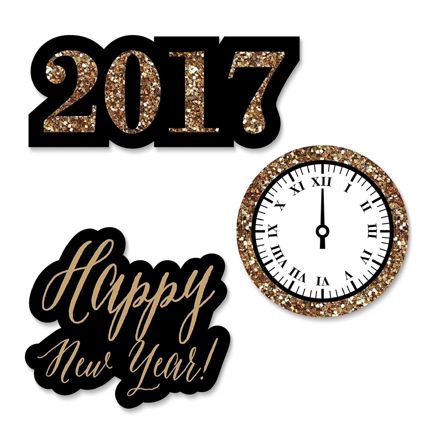 1500x1500 2017 New Year's Eve Decorations