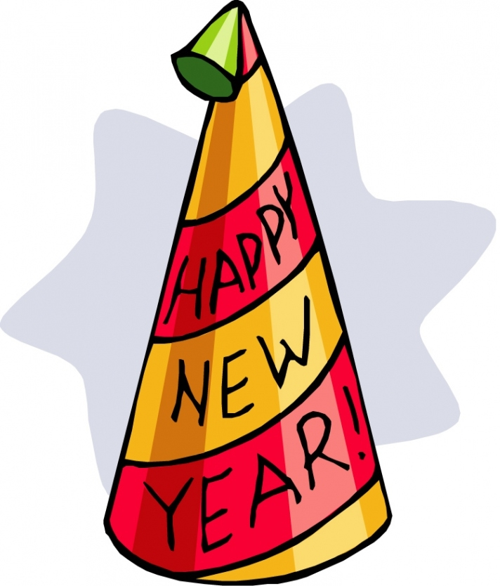 712x834 New Years Eve Party Hat Clipart Within New Years Eve Hats