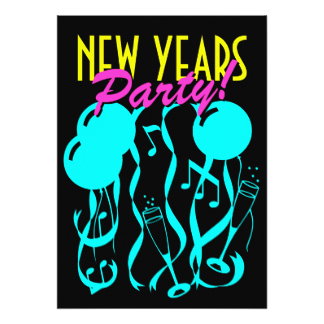 324x324 Retro New Years Eve Invitations Amp Announcements Zazzle