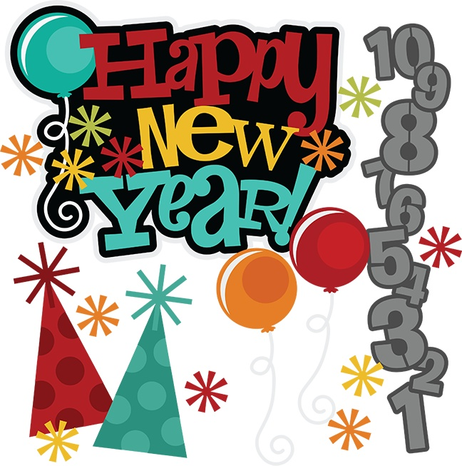 648x653 Kisses Clipart New Years Eve