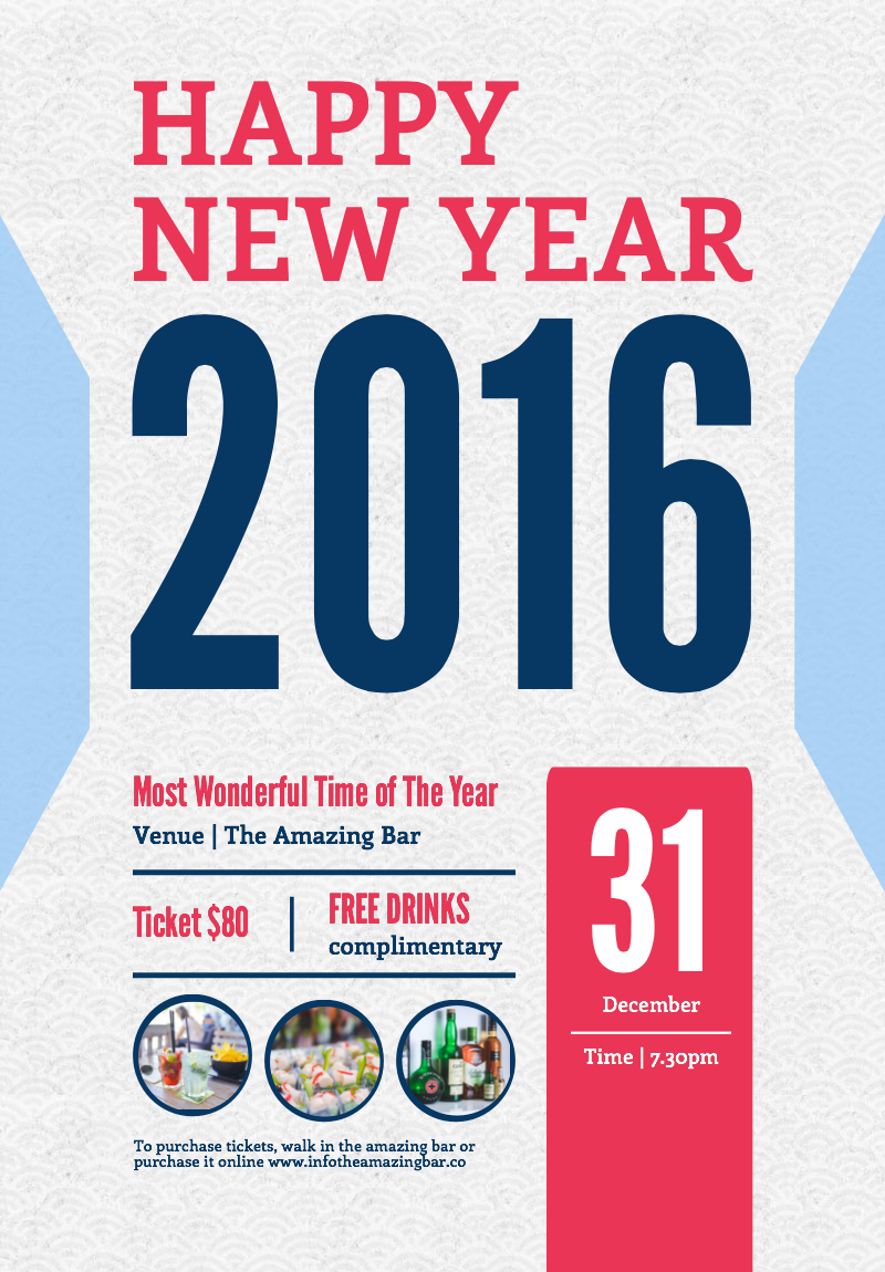 800x1150 New Year Resolution Infographic And Holiday Season Posters