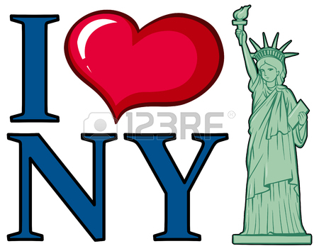 450x354 131 I Love New York Cliparts, Stock Vector And Royalty Free I Love