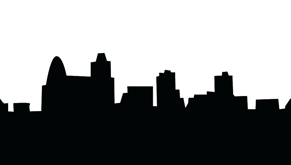 1000x567 City Skyline Clipart City Skyline New Silhouette Free Clip Art