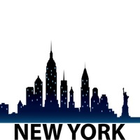 200x200 Skyline Clipart New York City