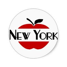 236x236 Big Apple Ny Clipart