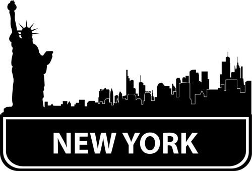 500x339 New York Skyline Clipart