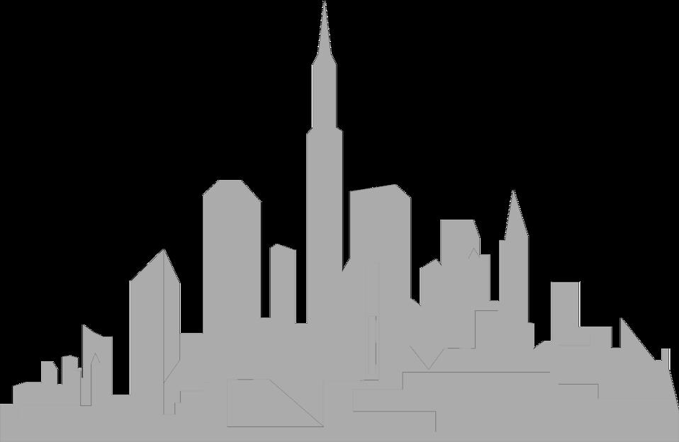 958x624 Skyline Clipart Transparent City