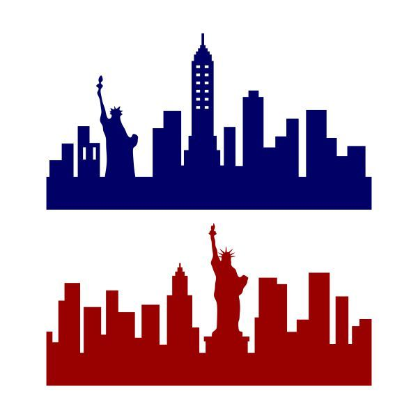 600x600 The Best New York Skyline Silhouette Ideas New