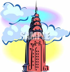 293x300 Free Clipart Image The Empire State Building In New York