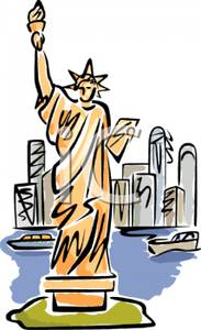 183x300 Statue Of Liberty Clipart New York City