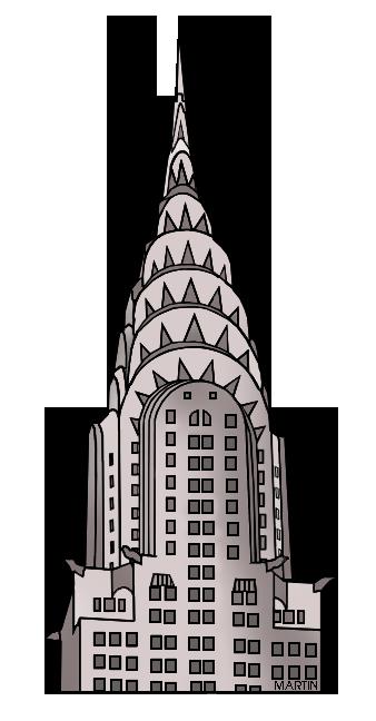 338x648 United States Clip Art By Phillip Martin, New York Landmark