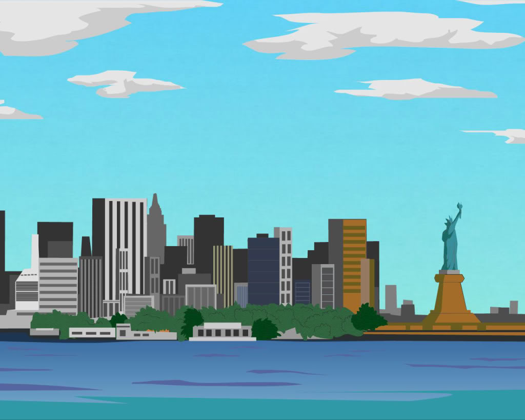 1024x819 Free New York Clipart Image