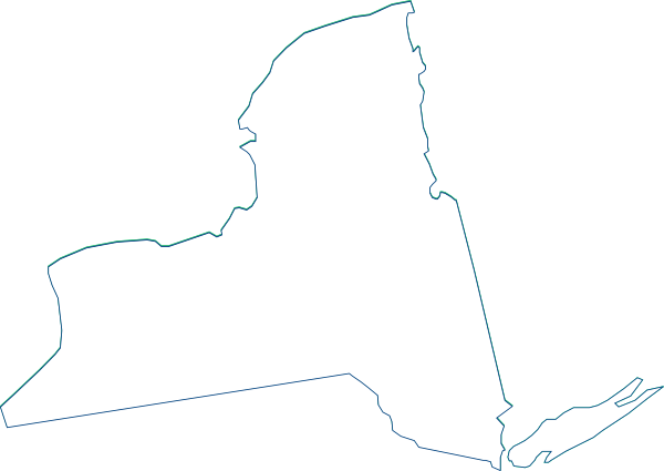600x425 New York State Clip Art