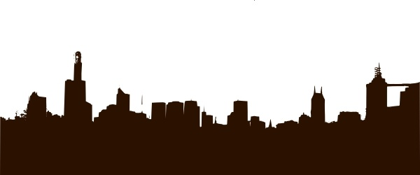 600x250 Doha Skyline Free Vector Download (110 Free Vector) For Commercial