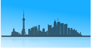 298x159 Shangai City Skyline Clip Art