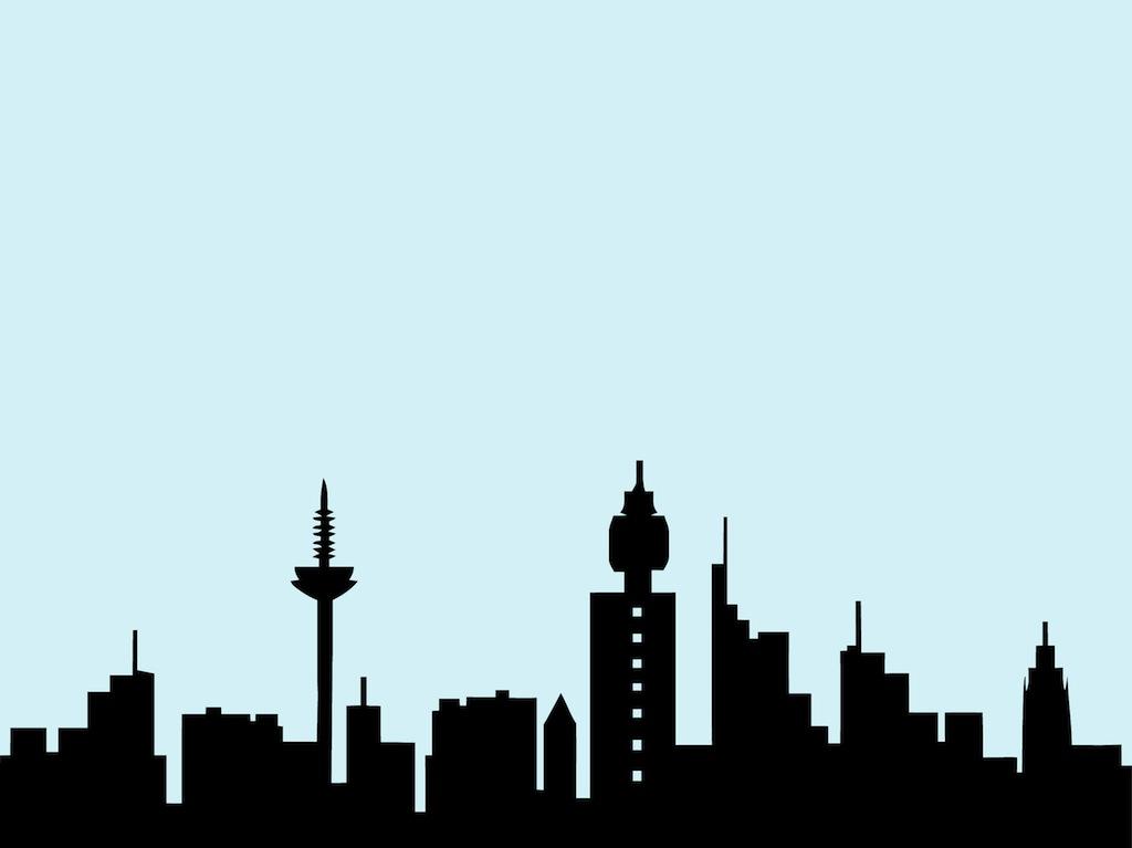 1024x767 Frankfurt Skyline Vector Art Amp Graphics