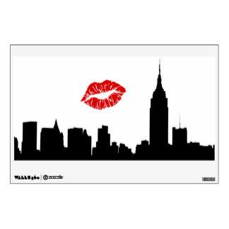 324x324 New York City Skyline Wall Decals Amp Wall Stickers Zazzle