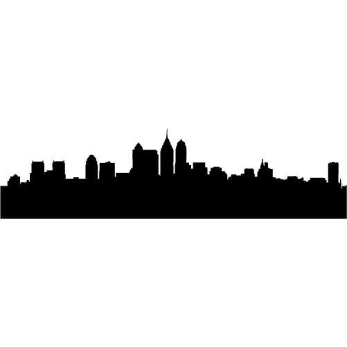 501x501 New York Skyline Silhouette Clip Art