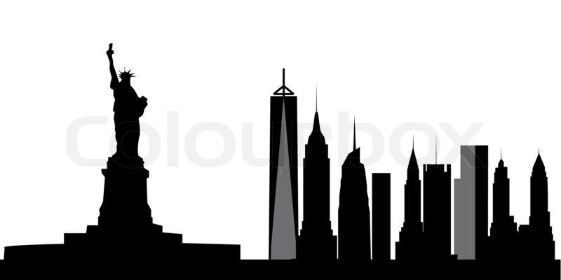 800x400 New York Skyline Stock Photo Colourbox