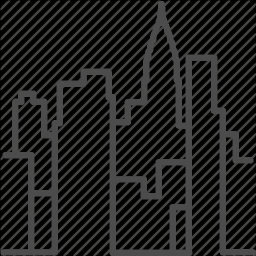 512x512 America, Building, City, Landmark, Manhattan, New York, Skyline