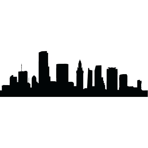 501x501 City Skyline Clipart Clip Art City Skyline Vector Silhouette