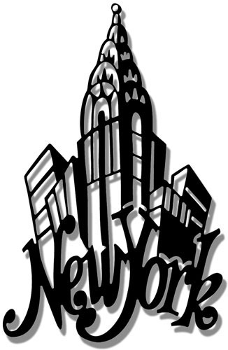 326x500 New York City Clipart