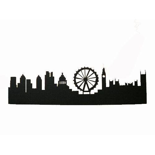 500x500 New York City Skyline Silhouette
