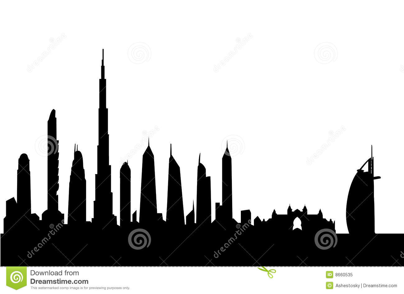 1300x948 Building Silhouette Clipart