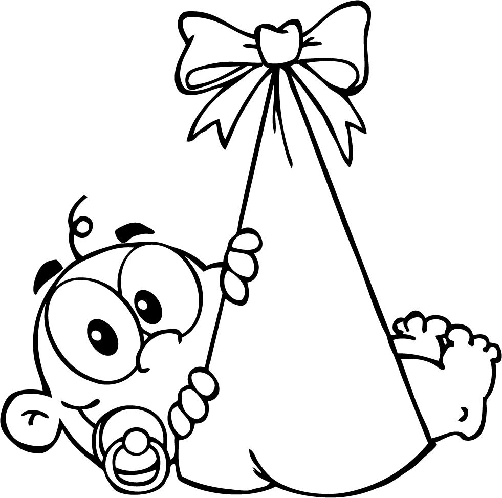 981x973 Newborn Baby Girl Coloring Pages Many Interesting Cliparts