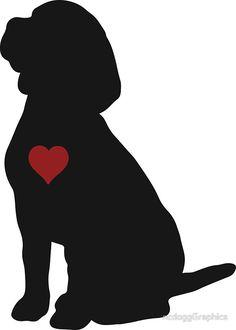 236x330 Beagle Silhouette Beagle Beagle, Silhouette And Cricut