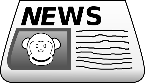 600x343 Gallery For Newspaper Clipart Clipart Panda
