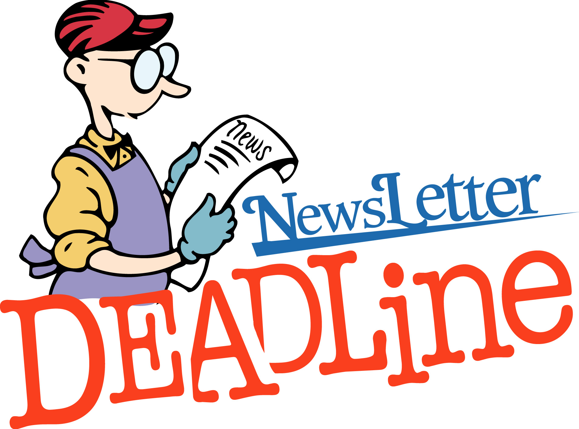 1901x1409 Newsletter Deadline Clipart Clipartfest 2