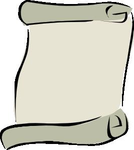267x299 Parchment Paper Portrait Symbol Clip Art