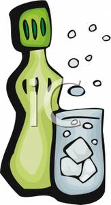 163x300 Club Soda Clip Art Cliparts