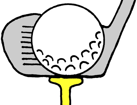550x423 Golf Cartoons Clipart