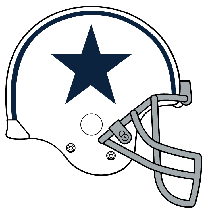 Nfl football helmet logos free download best nfl for Dallas cowboys logo coloring page