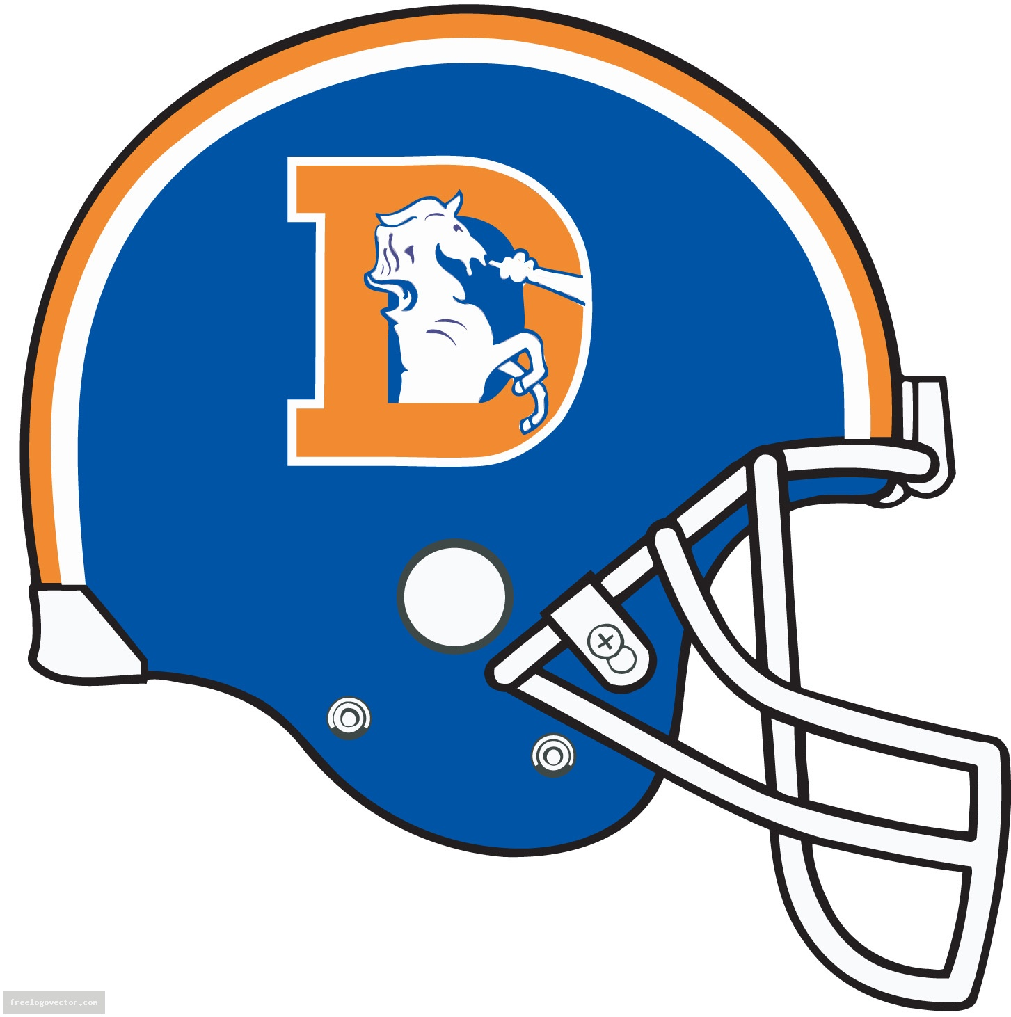 1453x1462 Nfl Denver Broncos Old Helmet Nfl Everything Football